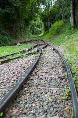 chemin de fer abandonné