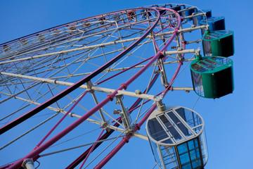 Ferris wheel / Blue Sky