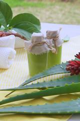 Aloe vera body scrub