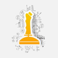 Drawing business formulas: joystick