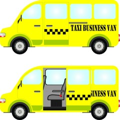 Taxi business van