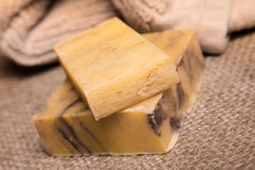 Bars of Organic handmade soap