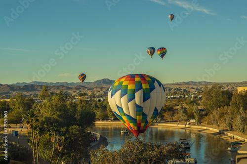 Hot Aire Balloons Lake Havasu