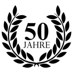 Lorbeerkranz. 50 jahre jubiläum