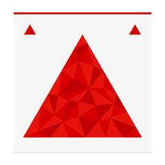 Geometric shape from triangles. Triangle