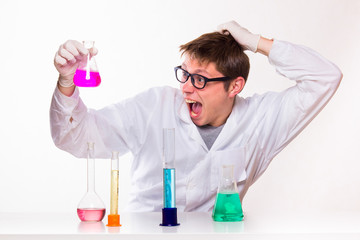 Chemist made a discovery in the lab