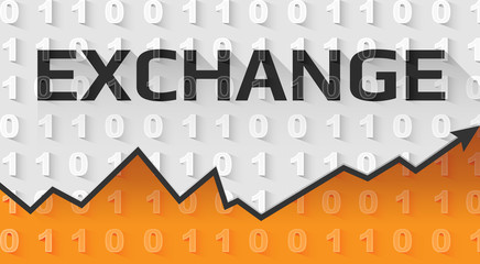 Exchange text banner
