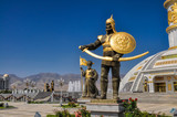 Monument of independence in Ashgabat