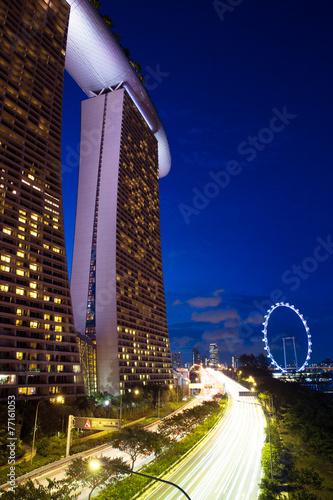 Marina Bay Sands Hotel and Singapore Flyer, Singapore