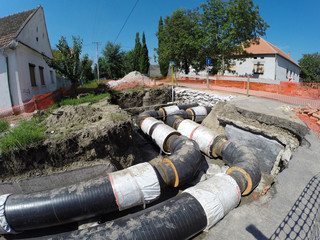 Insulated Underground Pipes