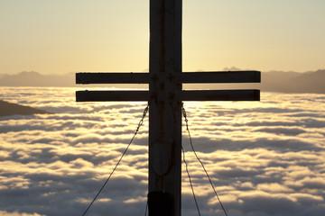 Sonnenaufgang auf der Resterhöhe, Österreich