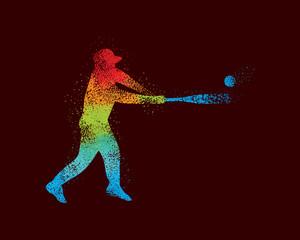 Baseball Art 2 Dark