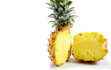 Pineapple In Halves
