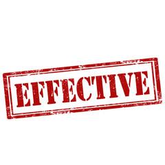Effective-stamp