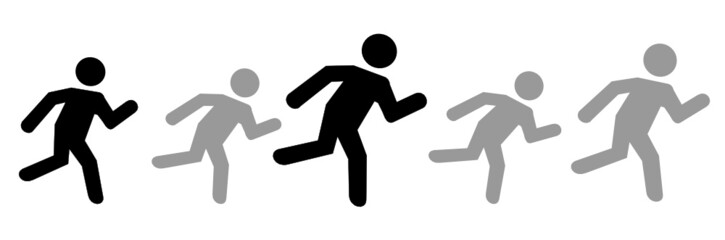 Personen Rennen