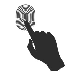 Sign touch, fingerprint