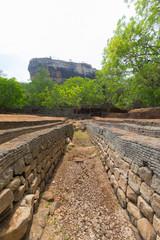 Sigiriya rock from below, Sri Lanka