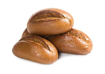 Fresh rye buns