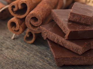 chocolate with cinnamon
