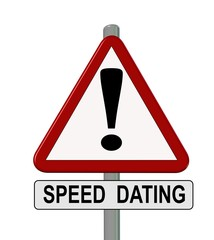 speed dating traffic sign