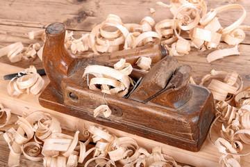 alter Holzhobel