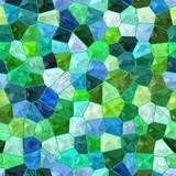 Color tiles seamless mosaic