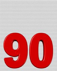 kırmızı renkli %90