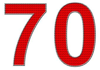 kırmızı renkli %70