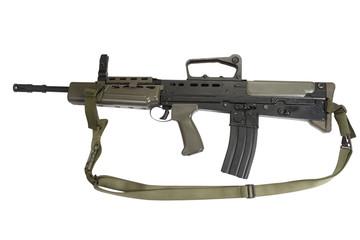 British assault rifle L85A1