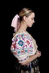 Slovakian Folk Dancer