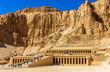 Mortuary temple of Hatshepsut in Deir el-Bahari - Egypt - 77185654
