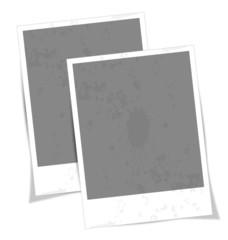 Vintage vector photo frame