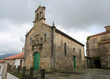 Old church in Tui, Galicia, Spain