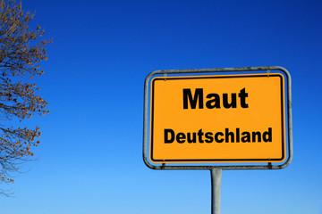 Maut in Deutschland