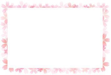 桜 フレーム 背景