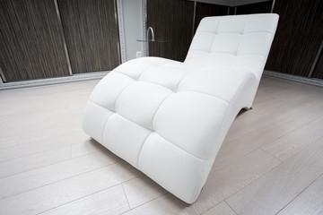 Designed couch in modern interior