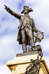 General Rochambeau Statue Lafayette Park Washington DC