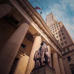 Federal Hall National Memorial at Wall Street