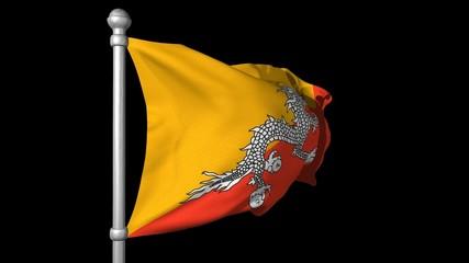 ブータン国旗