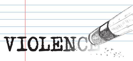 Creative on a theme of violence