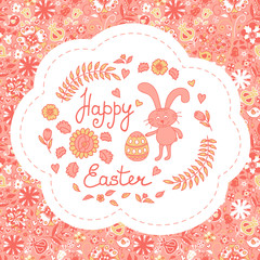 Postcard with Easter