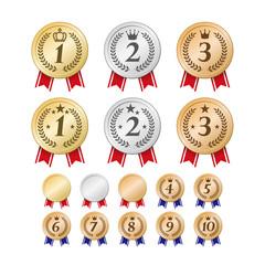 ランキングメダル