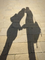 Ombre di due innamorati