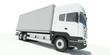 Truck front view illustration