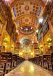 interior of the Basilica de la Merce. Barcelona. Spain.
