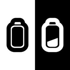 Design mobile battery vector