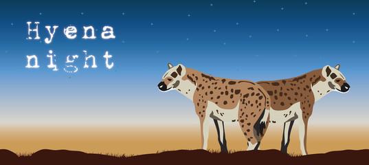 spotted_hyena_illustration