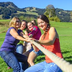 weibliches Teamwork