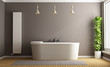 Minimalist bathroom - 77211807