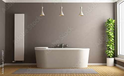 canvas print picture Minimalist bathroom